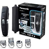 Panasonic ER-GB96-K503 Tondeuse barbe et cheveux avec lames en forme de peigne, 58 longueurs de coupe, tailles de barbe et cheveux précises, coloris noir