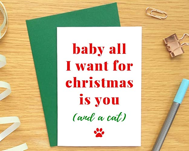 christmas card boyfriend husband funny christmas card funny boyfriend christmas card - Boyfriend Christmas Card