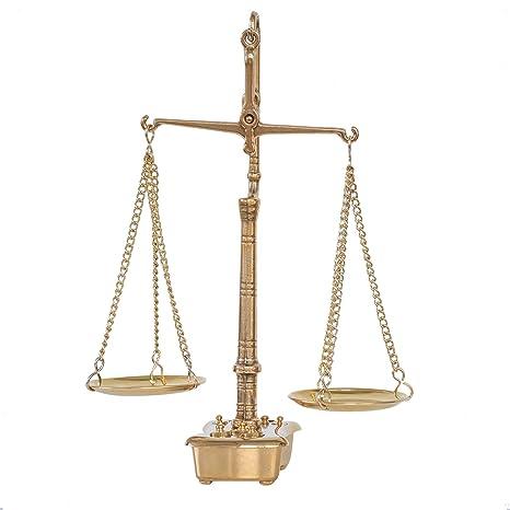 Balanza de farmacia latón balanza para oroestilo antiguo