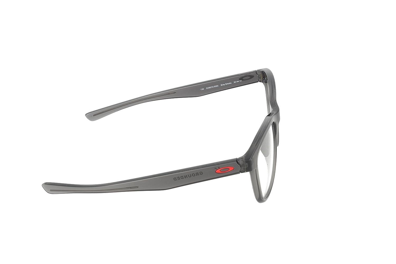 69fc358f78 Eyeglasses Oakley Frame OX 8070 807003 GREY SMOKE at Amazon Men s Clothing  store