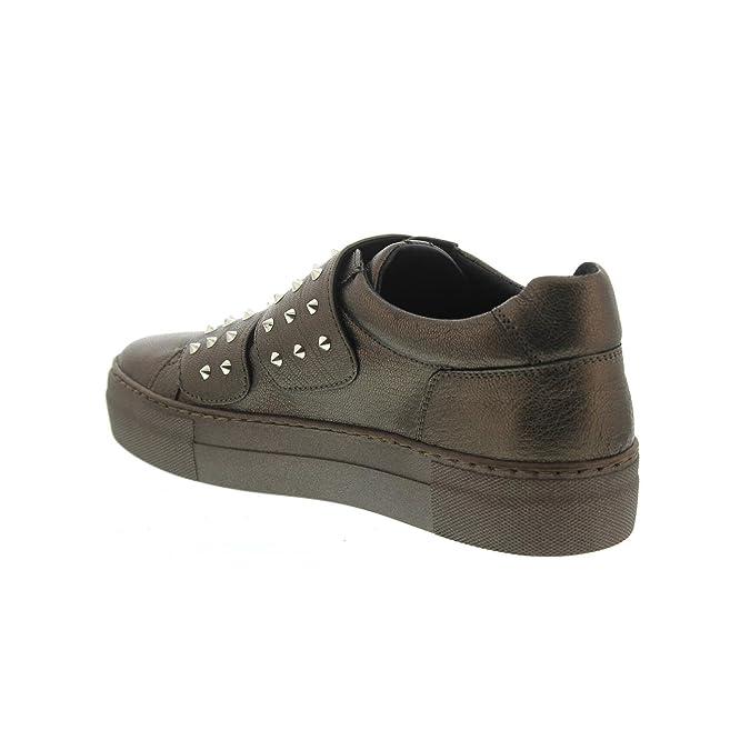 Donna Carolina Sneaker, Pompei Bronzo Anna Spezial (Metallicleder bronze), 34.168.189-005, Größe 38