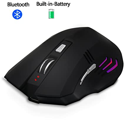 Amazon com: Bluetooth Wireless Rechargeable Mouse,Silent
