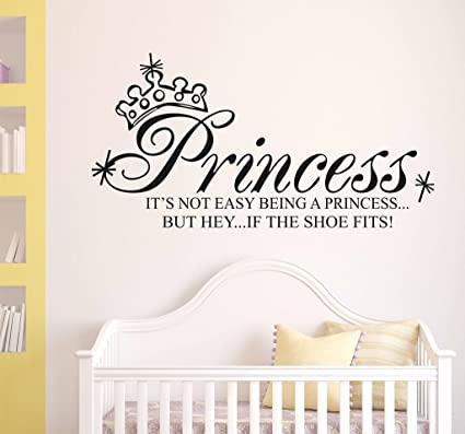 Buy Decals Design Baby Girl Room Princess Wall Quote Wall Sticker