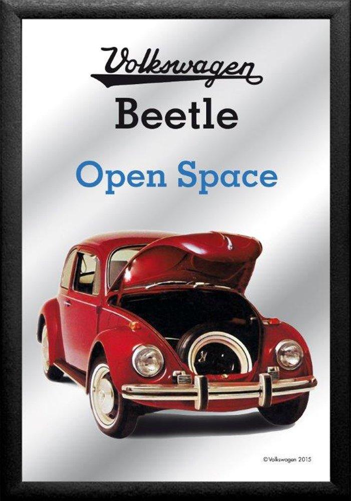 /Beetle/ /Descrizione:/ empireposter/ ca cm /Specchio con Cornice /Volkswagen/ /Open Space/ /Quadro Specch Nuovo/ 20/X 30/ /Dimensioni