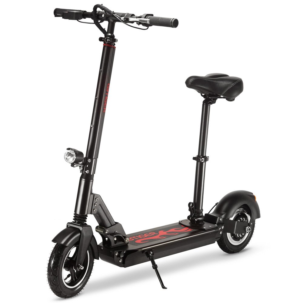 AUTOLOVER Electric Scooter,Two-wheel Electric Scooter Foldable Lightweight Electric Scooter with Li-Ion Battery And Headlight Taillight For Adults Teens