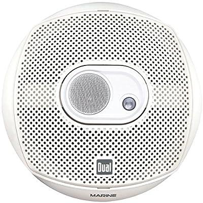 Dual DMS369 6-Inch x 9-Inch 200 Watt 3-Way Marine Speakers (Pair)