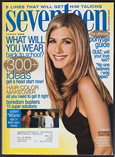 SEVENTEEN Jennifer Aniston N Sync Chloe Sevigny Mark Famiglietti 8 2000