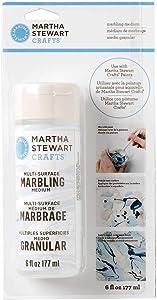Martha Stewart 18062 Multi-Surface Marbling 6oz Painting Medium