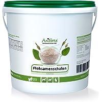 AniForte Flohsamenschalen 1kg für Pferde, Hunde und Katzen, Reich an Ballaststoffen und Schleimstoffen, Indische Rohkost Qualität