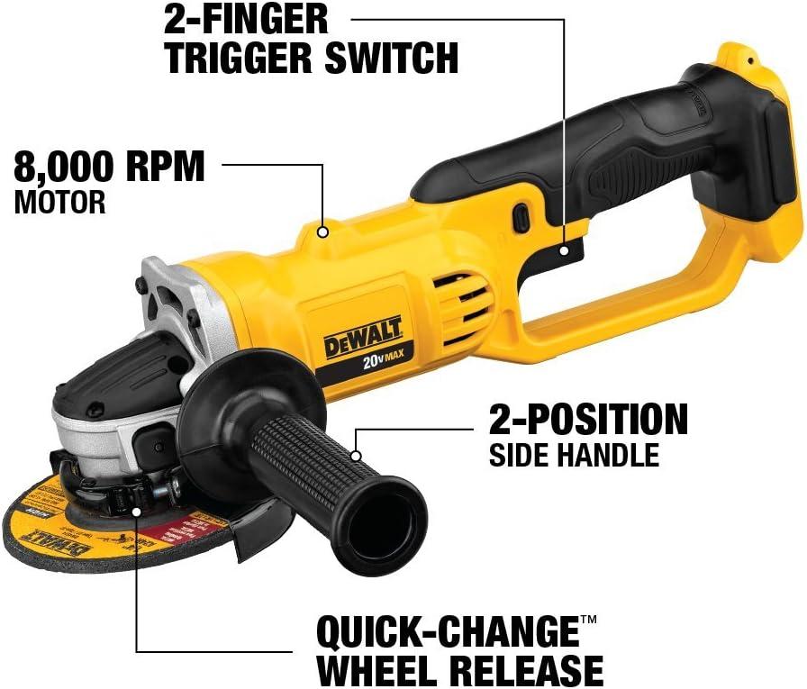 de walt motor wiring diagram dewalt dcg412b 20v max  lithium ion 4 1 2    grinder  tool only  dewalt dcg412b 20v max  lithium ion 4 1