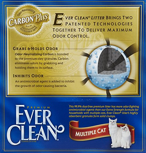091854712225 - Ever Clean Multiple Cat Litter, 25 Pounds carousel main 1