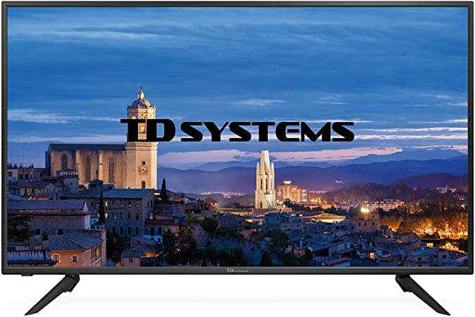 TD Systems K50DLH8F - Televisor Led 50 Pulgadas Full HD, resolución 1920 x 1080, 3X HDMI, VGA, 2X USB Reproductor y Grabador: Amazon.es: Electrónica