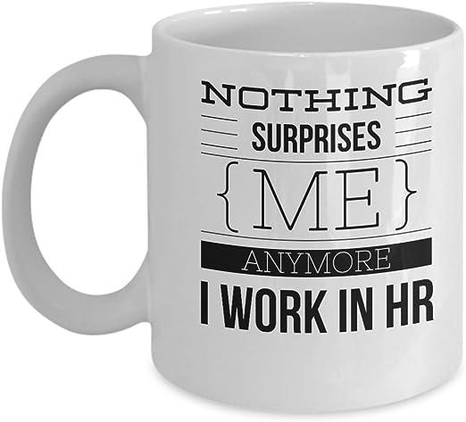 Trust Me I/'m A HR Manager Gift Mug shan663