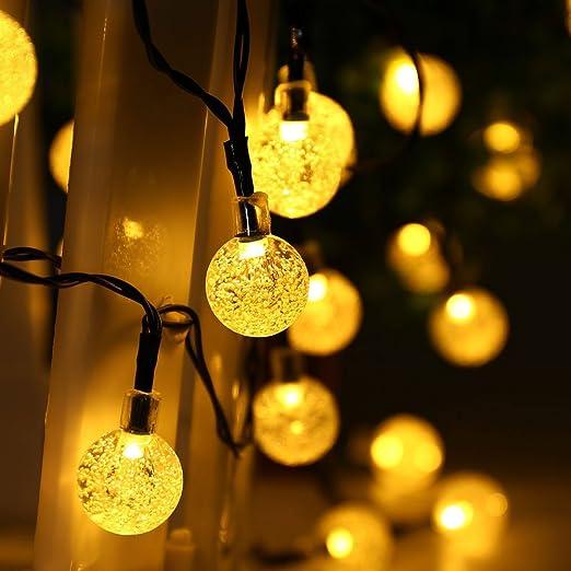 40 opinioni per lederTEK Alimentata Solare Impermeabile Luci Leggiadramente Della Stringa 6M 30