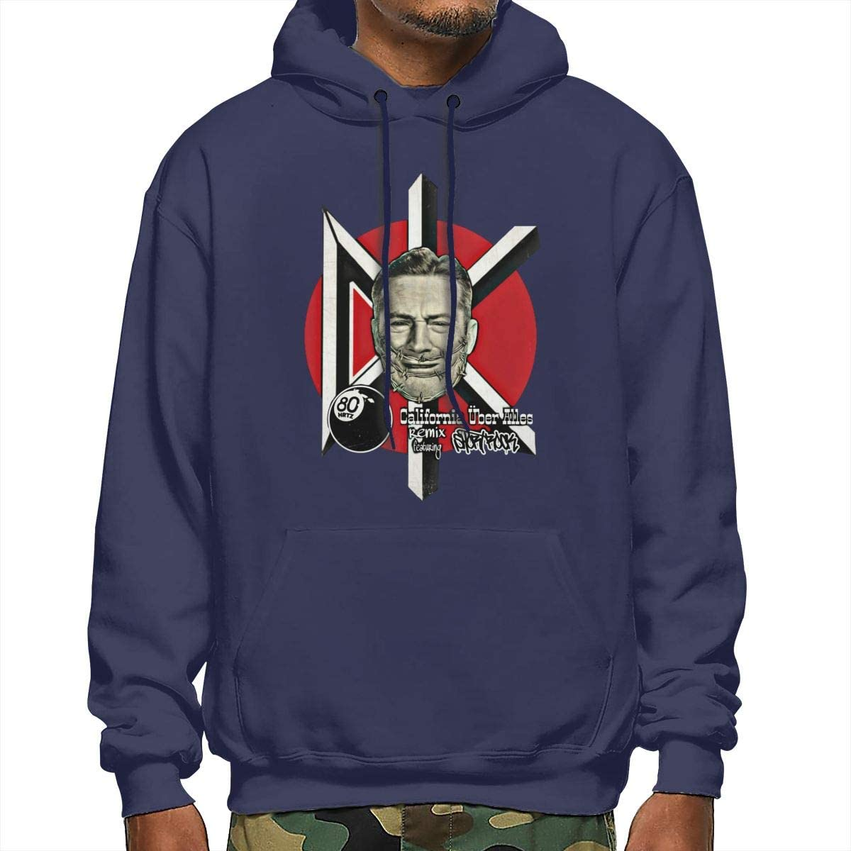 Mens Long Sleeve Cotton Hoodie The Dead are Coming Sweatshirt