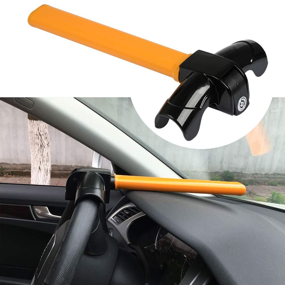 BUYGOO Antivol de Volant pour Voiture et Camionnette Ultra-r/ésistant Universel Serrure de Volant Antivol Dispositif de Blocage Serrure Bras antivol Bloque-Volant pour Auto Volant