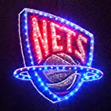 NBA New Jersey Nets LED Light-Up Logo Adjustable Hat