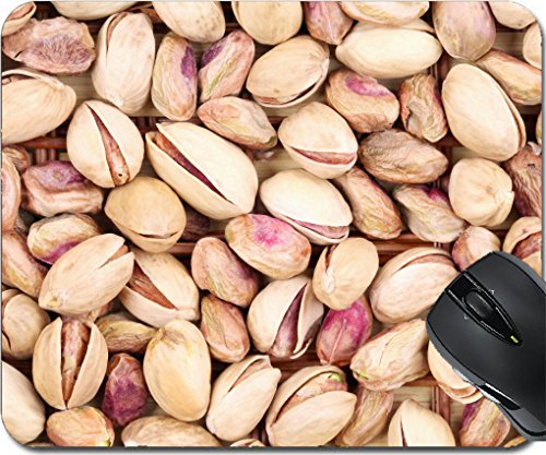 MSD Mousepad Mouse Pads/Mat design 24511526 Close up of many pistachios Whole - Fruit Pistachio California