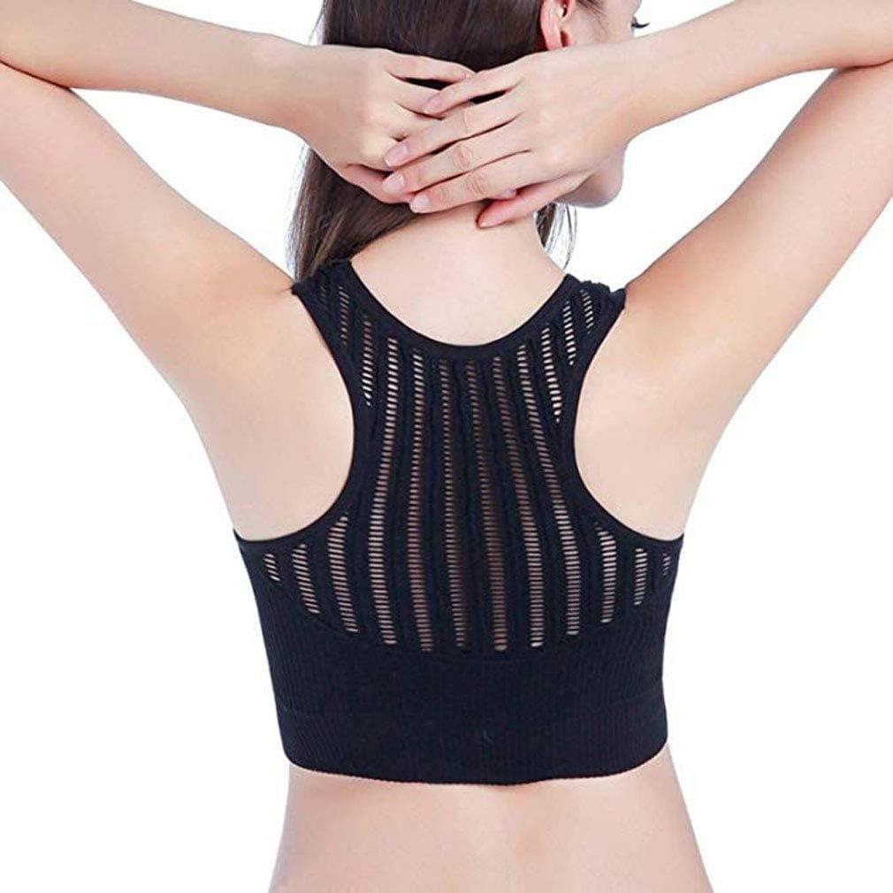 Beette 2019 Posture Corrector Lift Up Bra Women Wireless Hollow Vest Bralet Top
