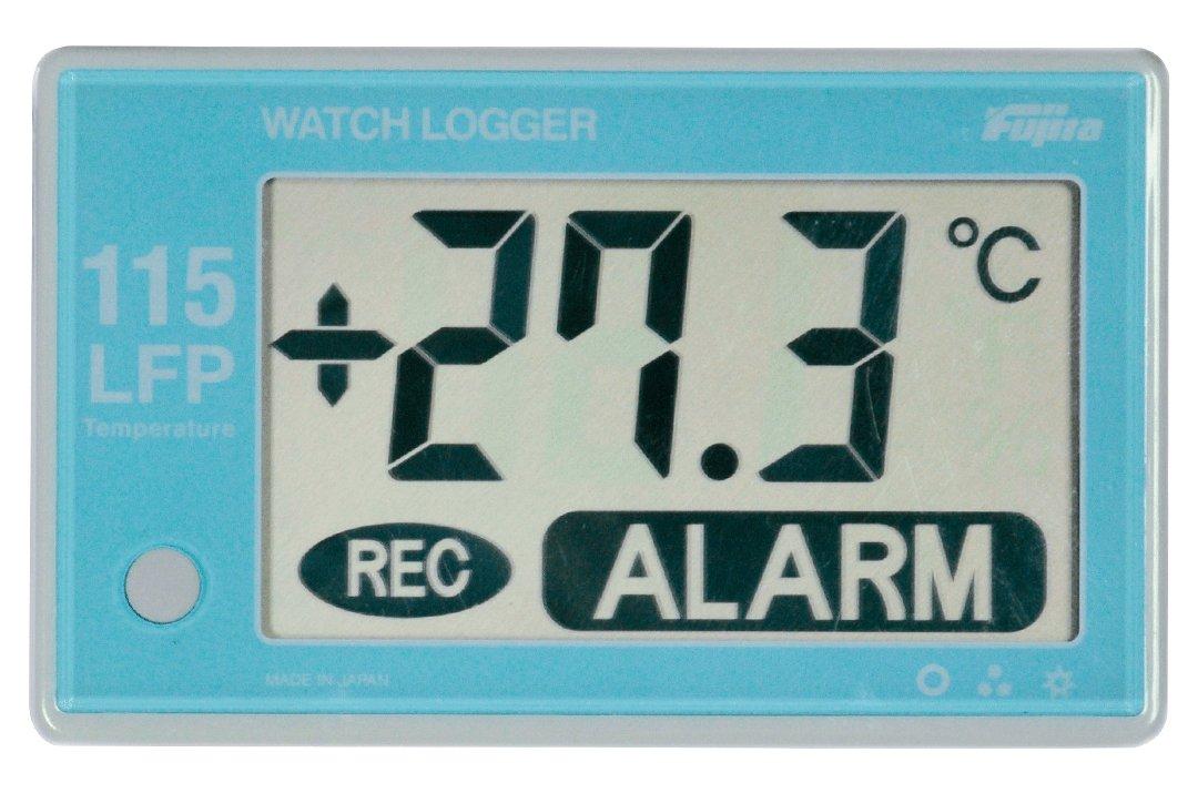 アズワン フリーザー用データーロガー アラーム対応 本体温度センサー外付型 /3-3423-01 B06XW4TSTC