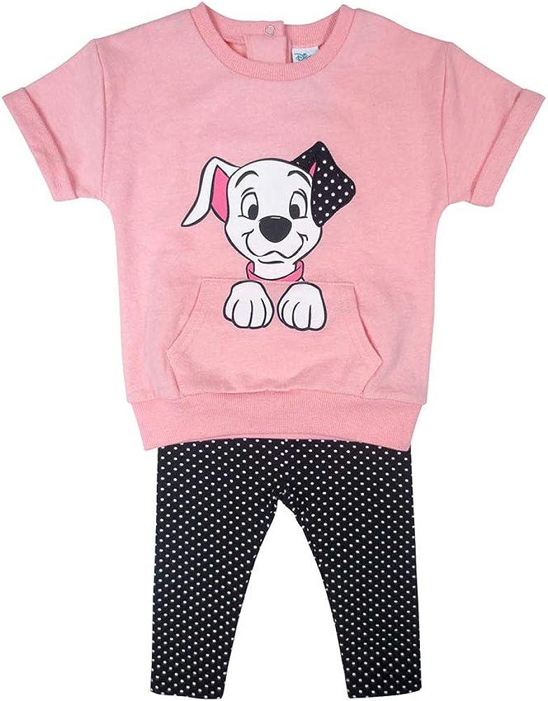 Disney Baby-Girls Dalmatians 2pc Legging Set Pant Sets