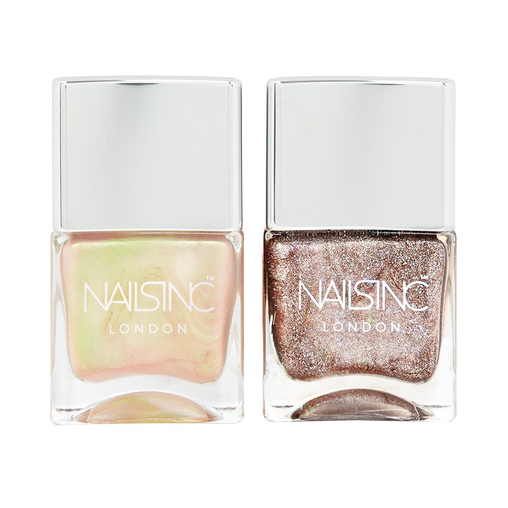Nails Inc Nail Polish Duo, Champane Shine: Amazon.co.uk: Beauty