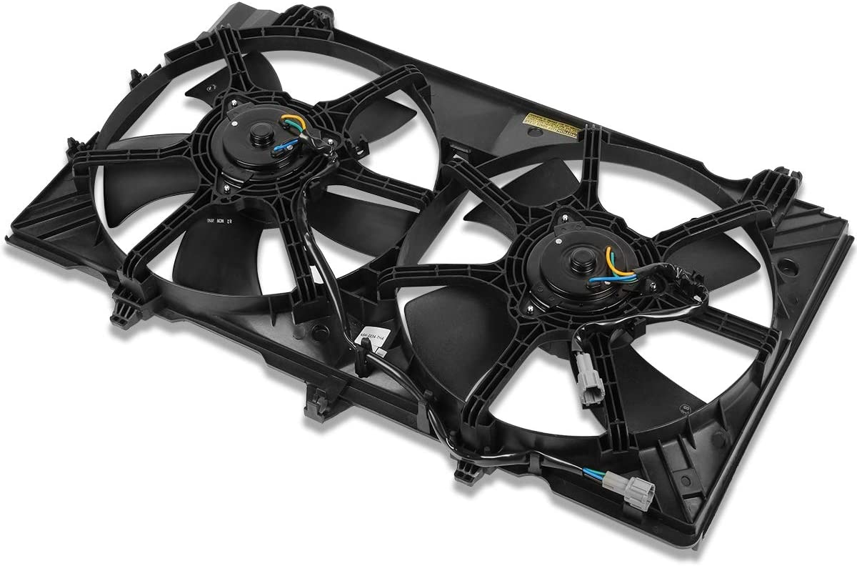 NI3115136 OE Style Radiator Cooling Fan Assembly for Nissan 350Z 07-09
