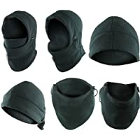 unknown 6in1 Warm Thermal Fleece Balaclava Hood Ski Bike Wind Stopper
