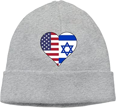 BBlooobow Mens/&Womens American Flag and Flag of Austria Soft Knit Beanie Caps