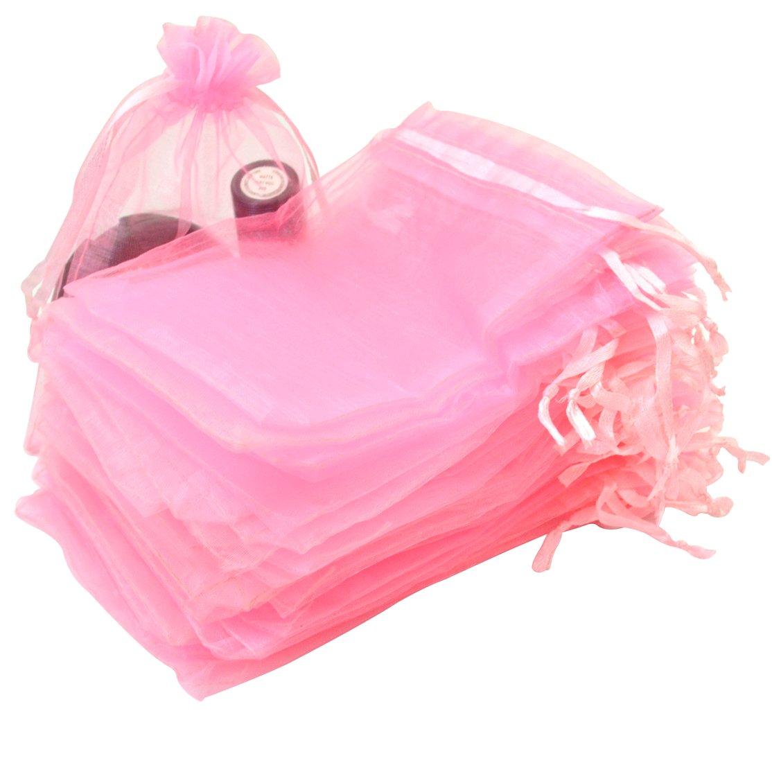 Amazon.com: Tojwi Organza Bags 50pcs 3.54\