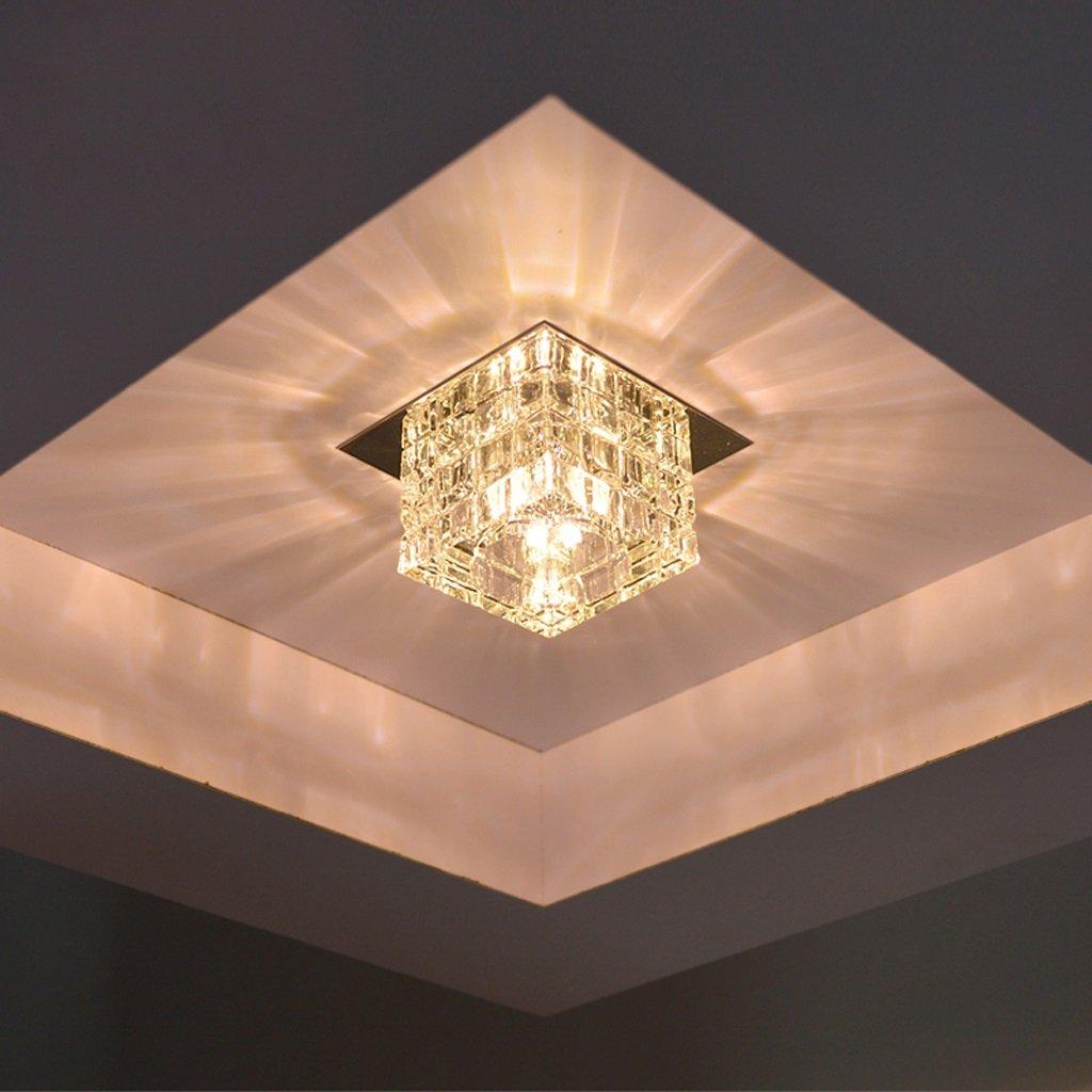 A Ming-Kristall führte Aisle-Korridor-Licht-Korridor-Lichter Grünckte Deckenleuchte-Deckenleuchte (Farbe   Hidden)
