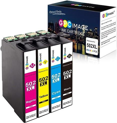 GPC Image 502 502XL Compatible Cartuchos de Tinta Reemplazo para ...