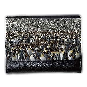 le portefeuille de grands luxe femmes avec beaucoup de compartiments // V00001805 pingüino rey // Medium Size Wallet