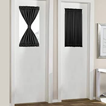 Amazon Com Nicetown Blackout Sidelight Panel Curtain