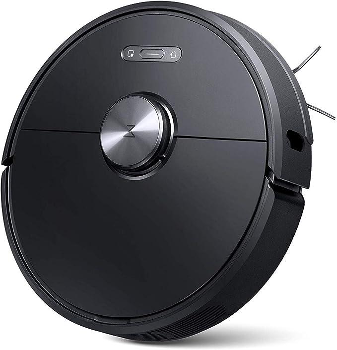 roborock S6 Robot Aspirador Sweep-Mop 5200Am 2000Pa, Anti caída, App, Cepillo Principal Lavable extraíble, Soporte Pared Virtual (Negro): Amazon.es: Hogar