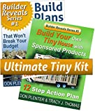 tiny house builders - Build Your Own Tiny House with Sponsored Products & Build Plans for Your Tiny House (Builder Reveals Series)