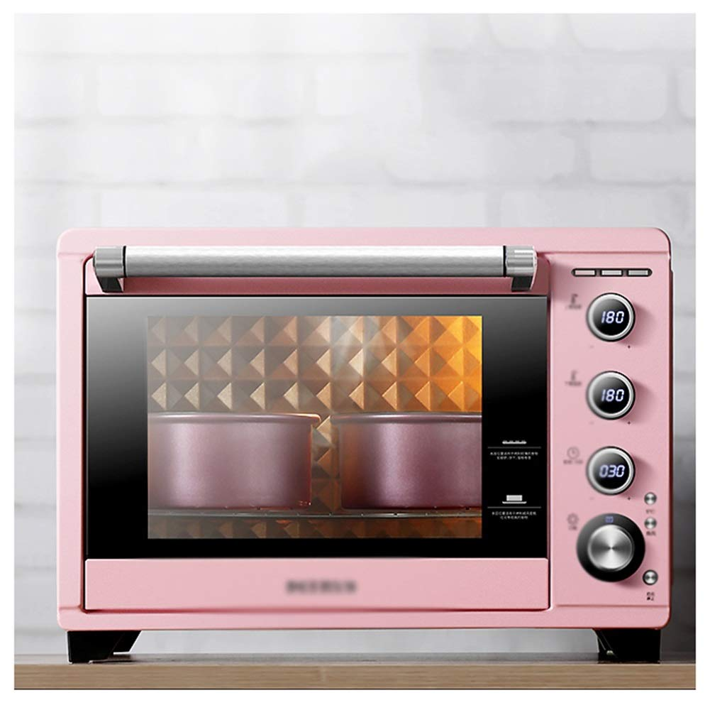 OPPALE Ovens-Mini Oven With Grill,38Litre Fast Heating Toaster Oven,Cooking Functions Includes Grill Rack & Baking Tray -Toaster Ovens