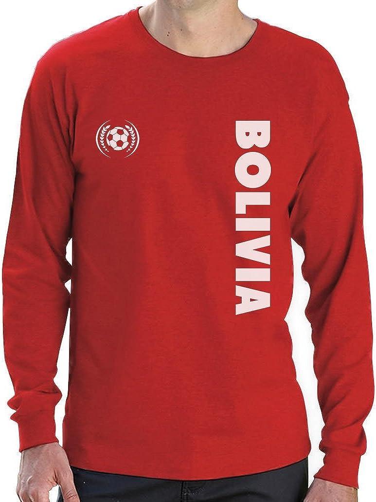 Bolivia Soccer Team 2016 Football Fans Long Sleeve T-Shirt Gift Idea