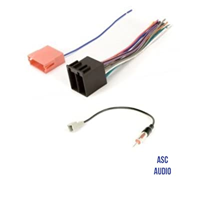 ASC Audio Car Stereo Radio Wire Harness and Antenna Adapter to Aftermarket Radio for some Kia and Hyundai Vehicles.- vehicles listed below: Car Electronics