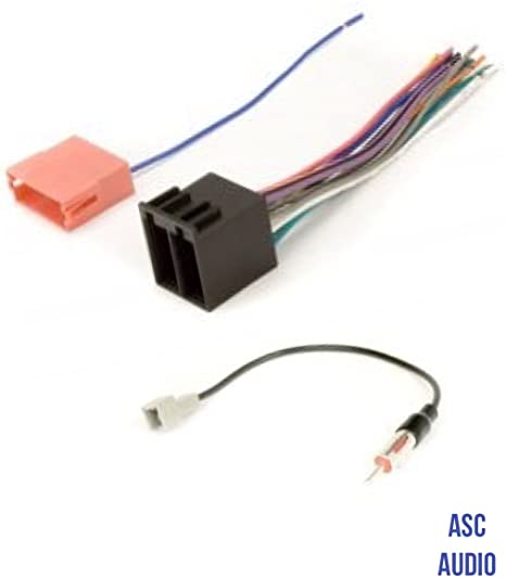 ASC Audio Car Stereo Radio Wire Harness and Antenna Adapter to Aftermarket on kia soul subwoofer, 08 sportage radio wiring, 2005 sorento radio wiring, 2011 kia sportage stereo wiring, 8 speaker system wiring, kia soul wiring diagrams, 2002 kia rio stereo wiring,