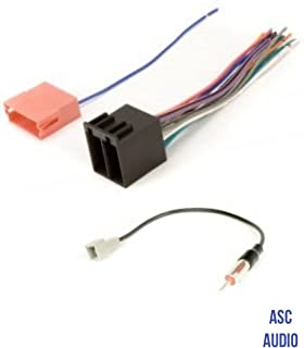 Amazon com: ASC Audio Car Stereo Radio Wire Harness and