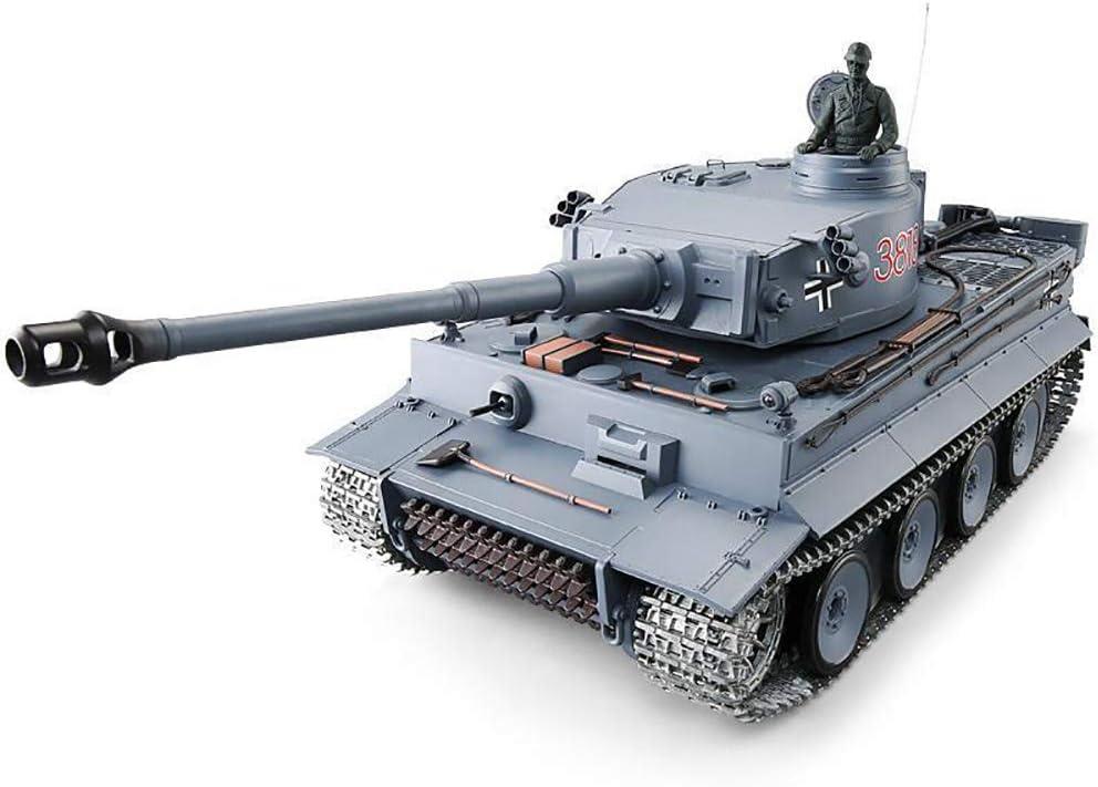 FZTX-LPX Control Remoto Tanque Modelo Batalla maquinaria Militar vehículo blindado Juguete, simulación Dispositivo de Humo, Puede lanzar Balas, Batalla infrarroja, con Luces LED