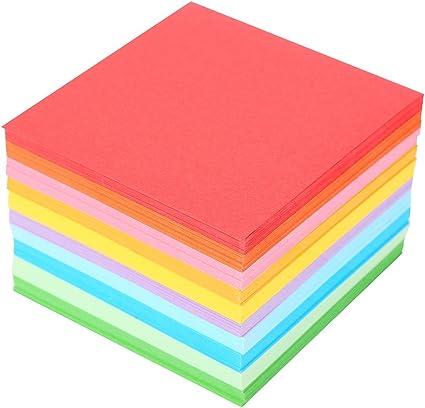Amazon.com: Lote de 520 hojas de papel plegables cuadradas ...