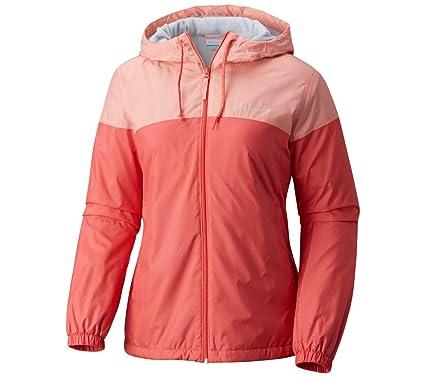 a9dd3ef5f6d Amazon.com  Columbia Women s Flash Forward Lined Windbreaker Jacket ...