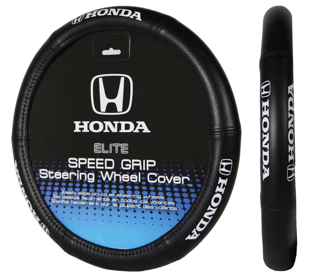 Plasticolor 006732R01 Elite Series Speed Grip 'Honda' Steering Wheel Cover