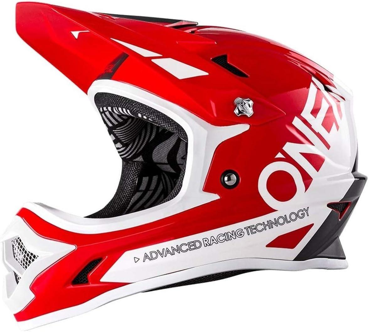 ONEAL Backflip RL2 Bungarra DH Fahrrad Helm rot//grau//wei/ß 2018 Oneal