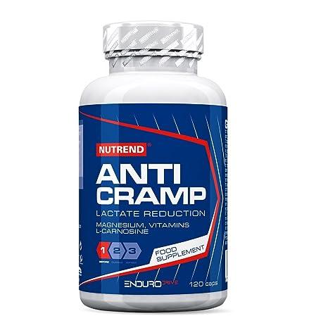 Nutrend ANTICRAMP Una mezcla única de minerales y vitaminas electrolitos, magnesio