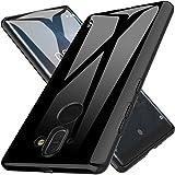 Custodia Nokia 8 Sirocco, LK Case in Morbido Silicone di Gel Antigraffio in TPU Ultra [Slim Thin] Cover Protettiva - Nero