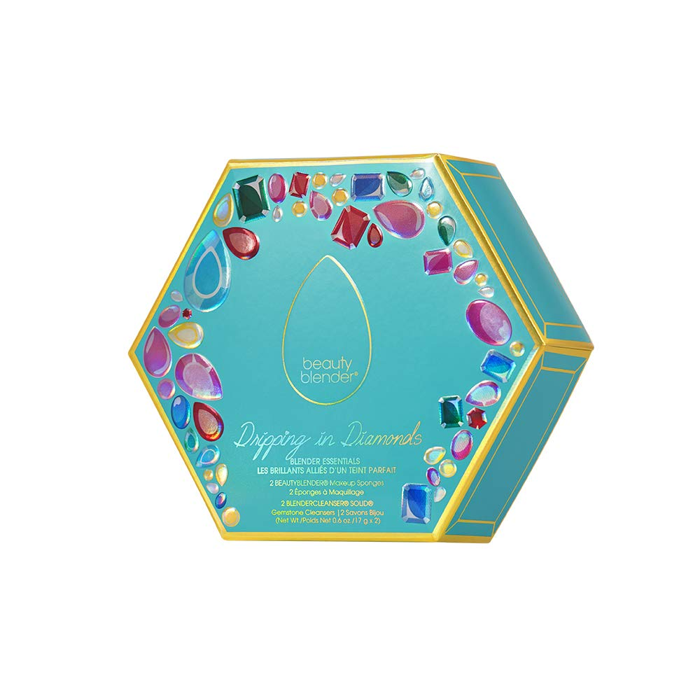 beautyblender Dripping in Diamonds Blender Essentials, Makeup Blenders & Blendercleansers, Limited Edition Set
