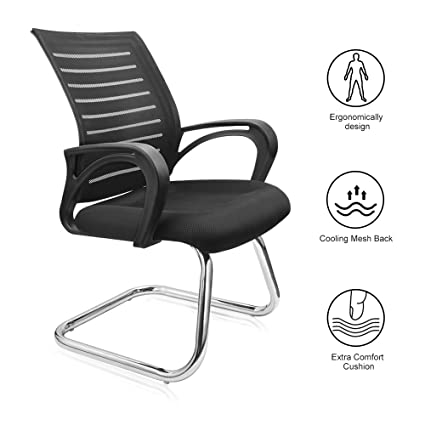 amazon com reclining office chair lumbar support gaming chair